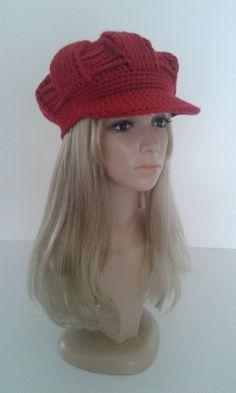#Casquette à visière #gavroche #bonnet #chapeau #SibelStyle