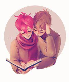 shared lectura (ilustración of Natello)