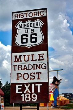 Mule Trading Post | Another great old location on Route 66 i… | Flickr