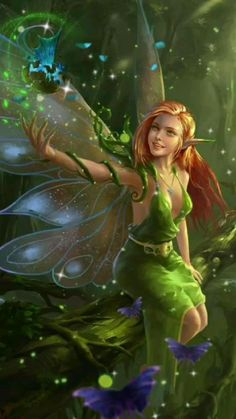 Fantasy Art Women, Beautiful Fantasy Art, Beautiful Gif, Beautiful Fairies, Fantasy Artwork, Hades Gif, Dancing Animated Gif, Charles Perrault, Fairy Wallpaper
