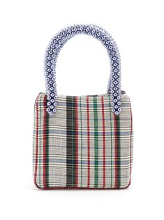Click here to buy Shrimps Una checked wool bag at MATCHESFASHION.COM