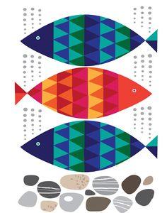 Pisces Illustration for Red Magazine - Roddy & Ginger