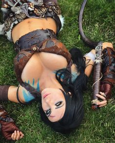 """43.1k Likes, 219 Comments - Jessica Nigri (@jessicanigri) on Instagram: """"Today I was KHAL DROGO!!! I am so happy with how this costume turned out guys!! ❤ I MADE…"""""""