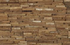 HRC2026 Vertical Reclaimed Solid Teak Unfinished Mesh Backed Cladding Panel