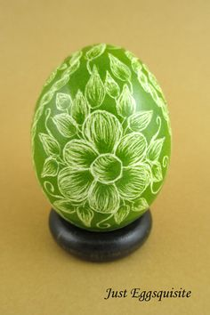 Pysanky Pisanki Ukrainian Polish Easter Egg Key by JustEggsquisite