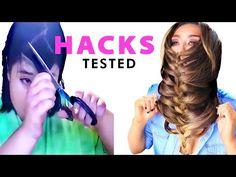 ★ LAZY Instagram HACKS TESTED   Best Hairstyles Hacks - YouTube