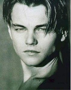 Strong face Leonardo DiCaprio