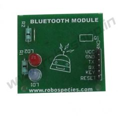 Bluetooth Shield : 1.HC05 is a bluetooth serial module that works with serial port.This module can be used in a Master or Slave mode. 2.It requires a unique password to operate(default is 1234).The master device can not only make pair with the specified Bluetooth address, like cell-phone, computer adapter, slave