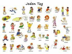 Jeden Tag (1) | #Deutsch #German #Alemán