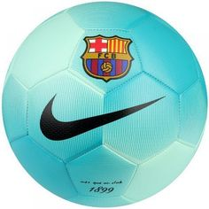 NIKE FC BARCELONA PRESTIGE SOCCER BALL SIZE 5 Greeb Glow.