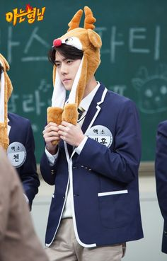 Sehun💙 in knowing brother