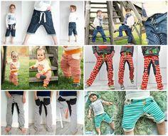 ★ deine SVERRE Kids ★ ist eine lässige Hose, die durch ihre Unterteilung und den leicht O-Bein-förmigen Schnitt besticht. Für den Sommer oder zum Sport kann die Hose auch in kurz genäht werden. Sie...