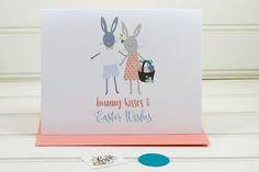 Cute Easter Card From the Both of Us Romantic Easter Card
