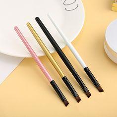 Eyebrow Brush, Eyebrow Makeup, Eyeshadow Makeup, Eye Brushes, Makeup Brushes, Beauty Care, Beauty Skin, Eyebrow Stencil