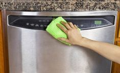 Home improvement Cleaning hacks stainless steel, spring Cleaning hacks, pet hair Cleaning hacks, Cleaning hacks ma. Cleaning Stainless Steel Appliances, Stainless Steel Cleaner, Cleaning Solutions, Cleaning Hacks, Couch Cleaning, Cleaning Products, Cleaning Your Dishwasher, Spring Cleaning, Messing