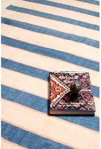 Antique Durries,The Carpet Cellar,Agra Jail Cotton Dhurrie<br>TCC-2712<br>7.5 Feet X 4.2 Feet