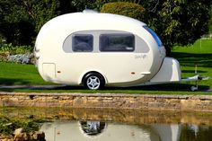 barefoot caravan makes cool curved campers