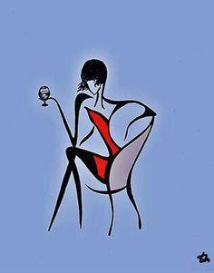 winerest woman wine