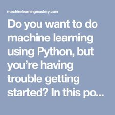Your First Machine Learning Project in Python Step-By-Step Basic Computer Programming, Learn Computer Coding, Learn Programming, Python Programming, Computer Build, Machine Learning Projects, Ai Machine Learning, Data Science, Computer Science
