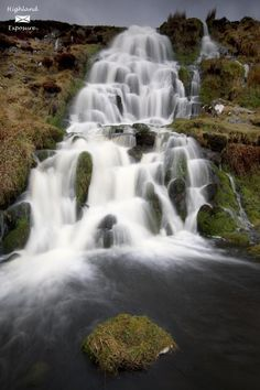 Brides Veil Waterfalls, Isle of Skye, Scotland