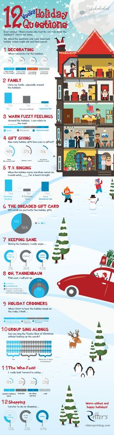 Holiday Folly Infographic Giving, Infographics, This Or That Questions, Holiday, Prints, Cards, Vacations, Infographic, Holidays