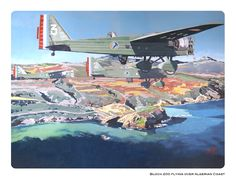 Old aircrafts in color on Behance