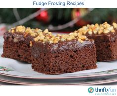 This page contains fudge frosting recipes. A delicious topping for many kinds of cakes, brownies and cookies.