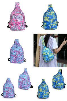[Visit to Buy] 2017 Most Popular Girls Boys Printing Bag Travel Backpack Rucksack Women Single Shoulder Bag Mochila Feminine A8 #Advertisement