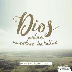 #Texto#Bíblico# Deuteronomio 3:22#