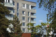 Graphic Concrete referens: As Oy Hyvinkään Sheviot, Housing Parma, Repeating Patterns, Concrete, Multi Story Building, Architecture, Projects, Buildings, House, Unique