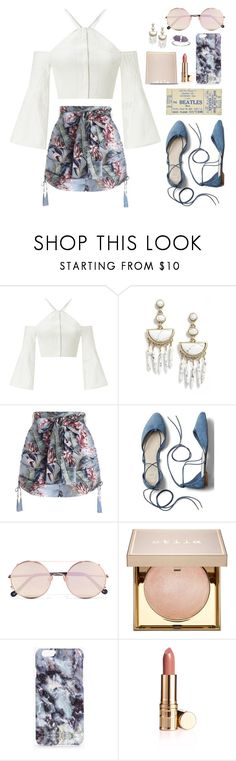 """Mingyu X Summer Concert"" by jleeoutfitters ❤ liked on Polyvore featuring Roland Mouret, BaubleBar, Zimmermann, Gap, Sunday Somewhere, Stila and Boohoo"