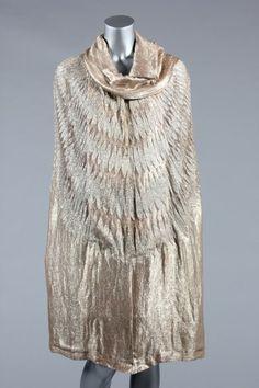 Evening Cape Madeleine Vionnet, 1920s Kerry Taylor Auctions