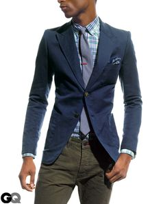 Best Men's Sports Jackets, Blazers, and Suit Jackets Modeled by Trey Songz GQ March 2012: Wear It Now: GQ