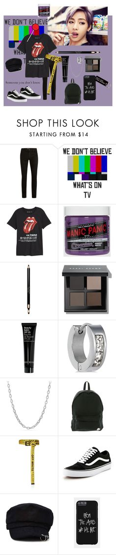 """""""Untitled #187"""" by ohmydog ❤ liked on Polyvore featuring Topman, Public Opinion, Clarins, Bobbi Brown Cosmetics, Rhona Sutton, David Yurman, Roxy, Off-White, Vans and Forever 21"""