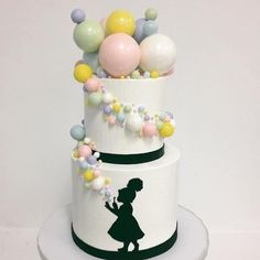 A post from We didn't get to experiment with the gelatin this time but this cake makes me Bubble Cake, Cupcake Tier, Gelatine, Carnival Themes, Dream Cake, Cake Tutorial, Childrens Party, Sugar And Spice, How To Make Cake