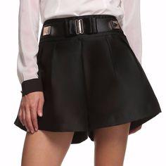 Now available on http://www.madelinenewyork.com/products/black-high-waist-embellished-belt-wide-leg-shorts?utm_campaign=social_autopilot&utm_source=pin&utm_medium=pin Black High Waist ...
