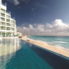 All this and more await you at one of our affiliated resorts in Cancún. Visit Sun Palace at IntervalWorld.com. #PalaceResorts  #infinitypool