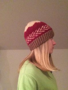 A personal favorite from my Etsy shop https://www.etsy.com/listing/253351062/cute-patterned-hand-knit-hat