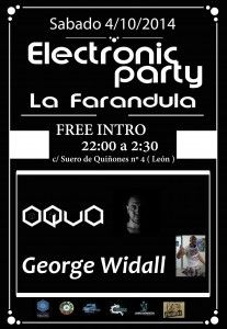 electronic party la farandula