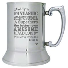 Personalised He is... Stainless Steel Tankard  from Personalised Gifts Shop - ONLY £29.99