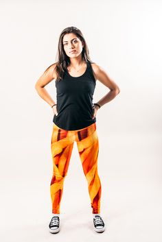 Fryprint Leggings Front ----- Available for Purchase at the link below Enter code: Launchweek at checkout and get 20% off your order only at www.wtfwear.ca SKU#: LGG029