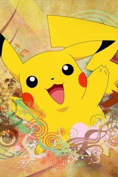 Pokemon - Pikachu #retro #cartoons #vintage