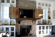 This Is One Stylish, Country-Approved Way to Hide Your Televisioncountryliving