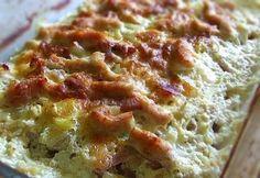 Jénaiban sült sajtos-tejszínes csirkemellcsíkok recept képpel. Hozzávalók és az elkészítés részletes leírása. A jénaiban sült sajtos-tejszínes csirkemellcsíkok elkészítési ideje: 80 perc
