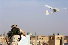 Military UAV Raven ...Visit our site for the latest news on drones with cameras