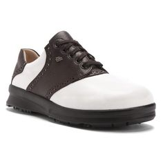 Finn Comfort Augusta 6000 Color: White/Coffee Size: UK 5.5 (US Women's 8.0) -- Check this awesome product by going to the link at the image.
