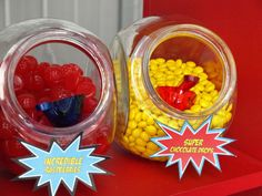 Super Hero Birthday Party Ideas | Photo 10 of 22 | Catch My Party