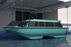 Swath Electra Glid Megayacht Tender by Sauter Carbon Offset Design