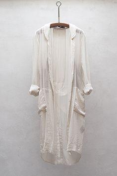 Raquel Allegra silk robe