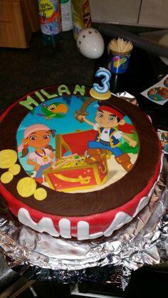 Jake en de nooitgedacht piraten taart